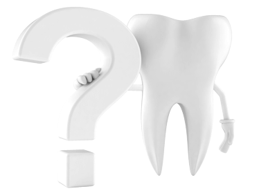 Graphic of Tooth with Question Mark